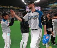 【プロ野球】日本ハム マーティン投手・逆転Vに不可欠な切り札