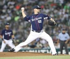 【プロ野球】西武 ウルフ投手・経験豊富な途中加入右腕