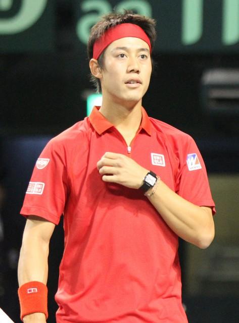 3月4日からのデビスカップに日本のエースとして出場する錦織圭[写真/tennis365.net]