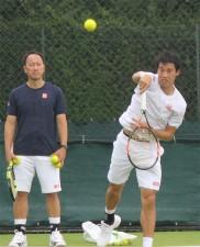 錦織圭「結果出したい」 松岡修造以来21年ぶり全英8強なるか<男子テニス>