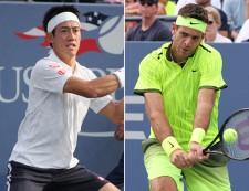 錦織 デル=ポトロと米で激突、来年3月にエキシビジョンマッチ<テニス>