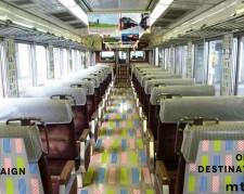 """岡山に""""マステ""""デザイン列車 JR山陽本線「mt×SUN LINER」運行へ"""