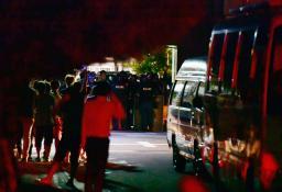 手配の男を発見、説得 和歌山の4人死傷事件