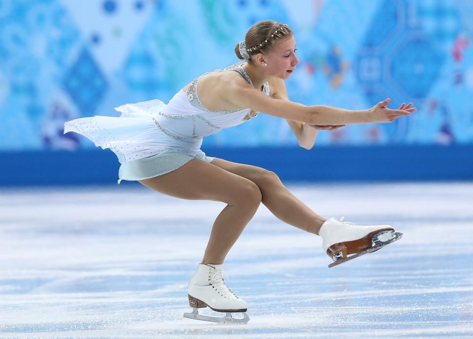 ポリーナ・エドモンズのフリーの演技【その2】 フィギュアスケート女子フリースケーティング。ポリー
