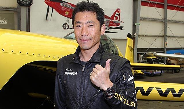 「空のF1」室屋選手インタビュー=千葉大会に向け調整は万全、ポイント稼ぐ
