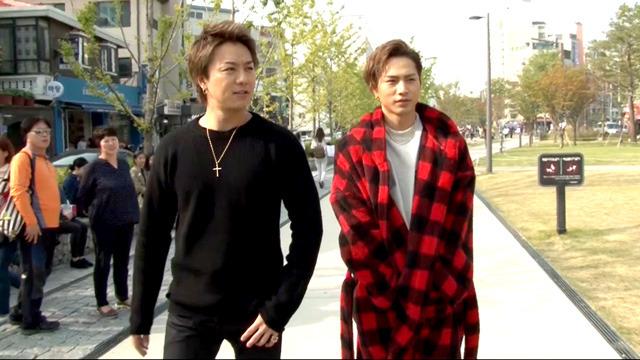 TAKAHIRO&登坂広臣、韓国で食べ歩き
