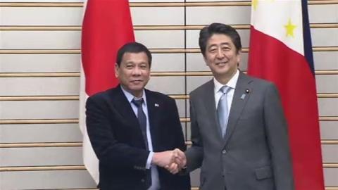 日比首脳会談、南シナ海問題「平和的解決」を確認