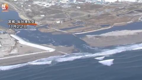 和歌山・愛知でも津波観測、先月の福島沖地震