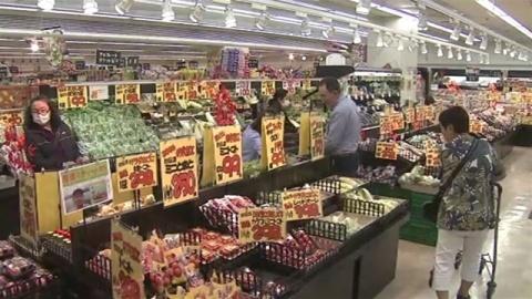 2月のスーパーと百貨店の売上高、ともに前年比減