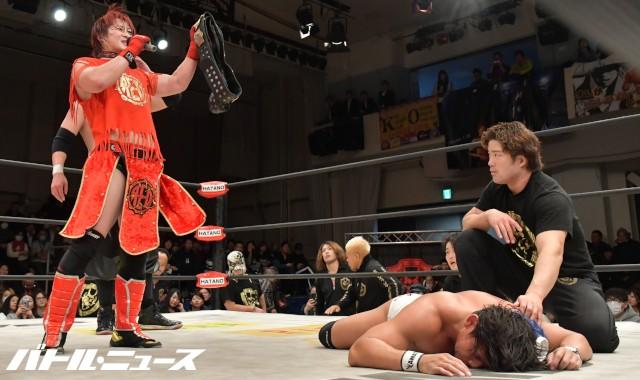 反ウルティモ・ドラゴンを掲げるB.B.ハルク&KAZMA SAKAMOTOがツインゲート奪取!吉野正人が三つ巴の世代闘争に近藤修司の投入を宣言!