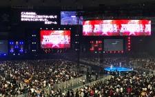 38,162人もの観衆が詰めかけた新日本プロレス東京ドーム大会