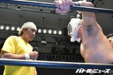 藤田和之に敗れたスーパー・タイガーへ船木誠勝が一喝!「いつまでもいないですよ、佐山サトルさんは」