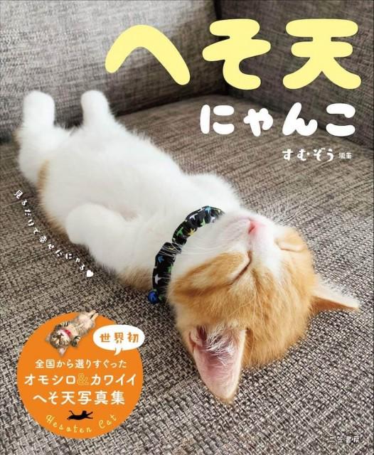 猫のお腹に吸い寄せられてしまう…へそ天している猫ばかりを集めた写真集「へそ天にゃんこ」