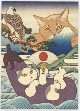 猫の御朱印帳 by 実録猫