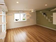 猫も人も楽しく暮らせる共生型住宅「ichineko」