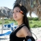 美ジョガー・西内ひろ、魅惑の絶景バラデロビーチを走る