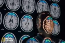 米ニューメキシコ大学の神経科学者ケント・キールは、4000人以上の受刑者の脳をMRIで調べた(Photograph By Lynn Johnson/National Geographic)