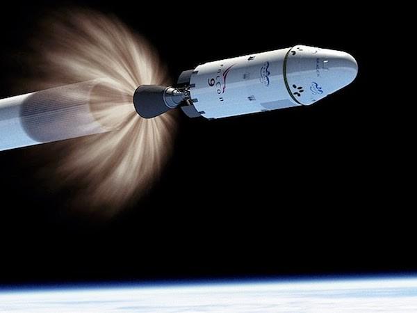 スペースX、ロケット上段の巨大パーティー・バルーンによる回収を実験へ
