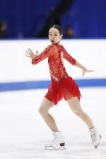 現役最後の舞台となった全日本選手権での浅田真央