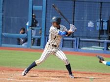 俊足・好打の外野手としてプロから高い評価を受けている上武大・島田海吏