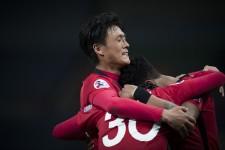 ACLのグループリーグ突破を決めた浦和レッズ