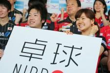 日本卓球の飛躍に大きく貢献した水谷と福原