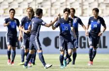 大迫勇也のゴールで先制、幸先のいいスタートを切った日本だったが...