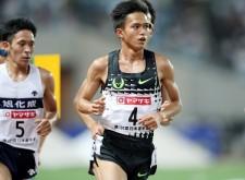 昨年に続き、日本選手権1万mを制した大迫傑