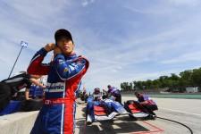 ロード・アメリカでは19位に終わり、ランキングで3位から4位に後退した佐藤琢磨