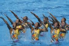 新チームとなって井村雅代ヘッドコーチとともに世界水泳を戦った「マーメイド」たち