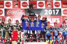 3年連続で鈴鹿8耐を制したヤマハファクトリーレーシングチーム