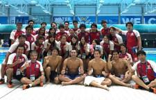 日本競泳陣、一同で記念撮影。世界水泳2017では収穫もあったが、新たな課題も見つかった