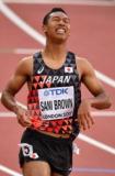 サニブラウン、世界陸上100m決勝進出へ「絶好のチャンス」だった