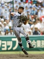 華麗な守備で何度もチームのピンチを救ってきた東海大菅生・田中幹也