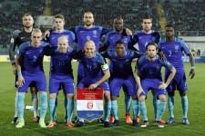 8月31日、フランスに敗れるとあとがなくなるオランダ代表