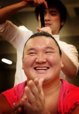 名古屋場所で目標としていた最多勝記録を塗り替えた白鵬