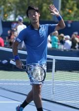 全米オープン本戦初出場、そして初勝利を挙げた杉田祐一