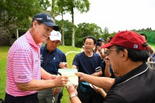 PGAチャンピオンズツアーが日本で開催され、トム・ワトソンらが来日