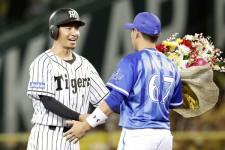 9月8日のDeNA戦で史上50人目となる通算2000本安打を達成した阪神・鳥谷敬