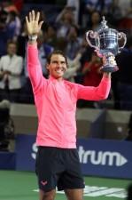 4年ぶりに全米オープンを制したラファエル・ナダル