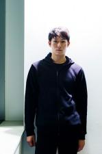 日本を発つ前日にインタビューに応じた柳田