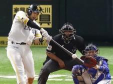 ここまで日本シリーズ2試合で8打数4安打と好調の柳田悠岐