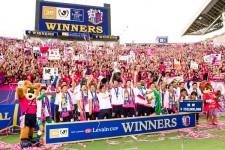 ルヴァンカップを制して、初のタイトルを手にしたセレッソ大阪