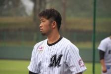若手に混じりフェニックスリーグで汗を流していたロッテ清田育宏