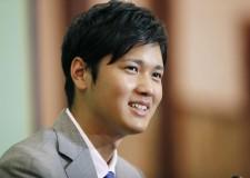 11月11日、今オフでのメジャー挑戦を表明した日本ハムの大谷翔平