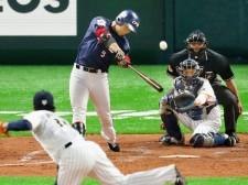 今年2月、侍ジャパンの壮行試合で則本昂大から本塁打を放った王柏融
