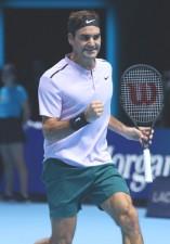 ATPファイナルズでベスト4に進出したロジャー・フェデラー。来季の活躍も楽しみだ