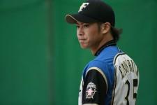 今季限りで現役を引退し、日本ハムの統轄本部国際グループのスタッフとして働くことになった榎下陽大