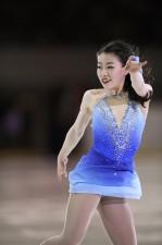 全日本選手権では計3本のトリプルアクセルを決め、総合3位となった紀平梨花