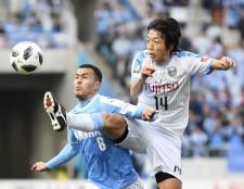 ジュビロ磐田戦で1ゴール2アシストの活躍を見せた中村憲剛(川崎フロンターレ)